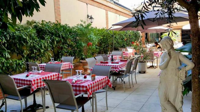 Terrasse - Le Patio Gourmand, Moulins