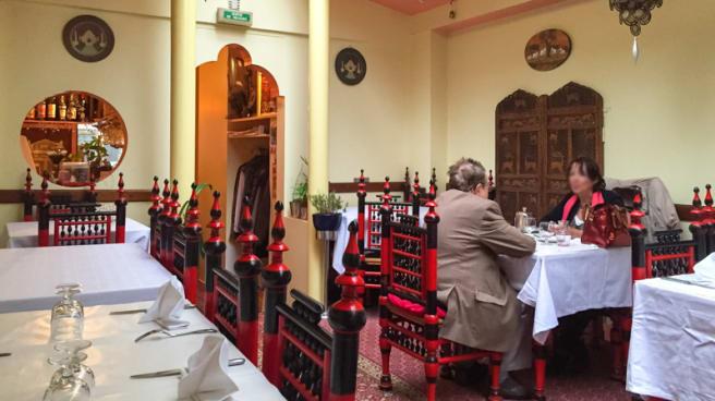 Salle du restaurant - Annapurti, Paris