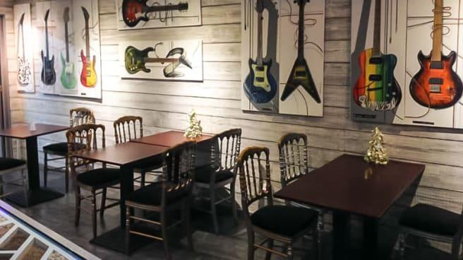 Salle du restaurant - L'Atelier du Cafe