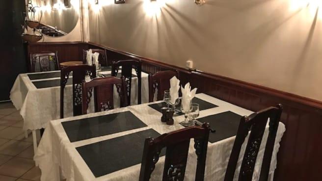 Salle du restaurant - Le Colisée, Marseille
