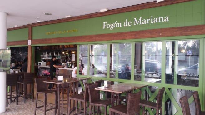 Terraza - El Fogón de Mariana Bahia Sur en Pasaje, San Fernando