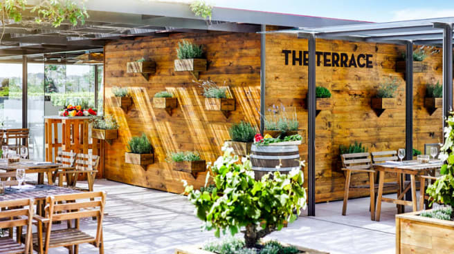 Terraza - The Terrace - Fairmont Rey Juan Carlos I, Barcelona