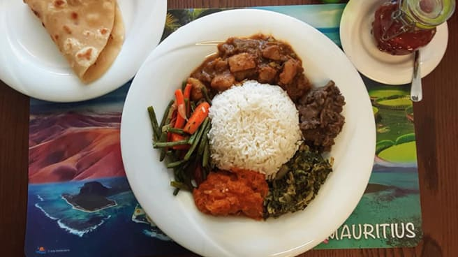 Briani de Poulet - Le Chamarel - Cuisine Mauricienne, Pully