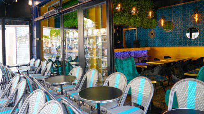 Terrasse - Lobo restaurant, Paris