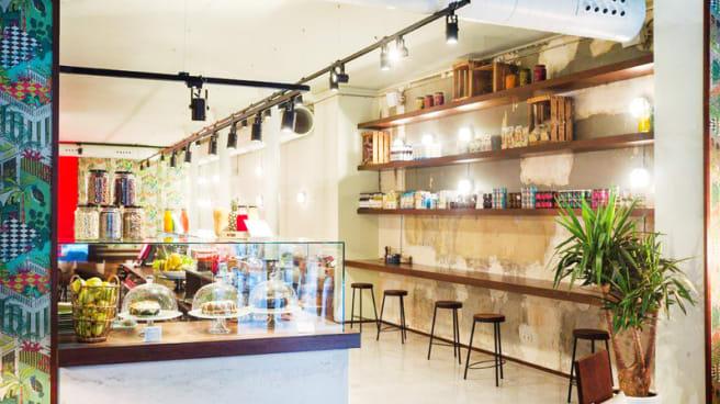 Vista sala - Buenaventura Cafe & Restaurant, Barcelona