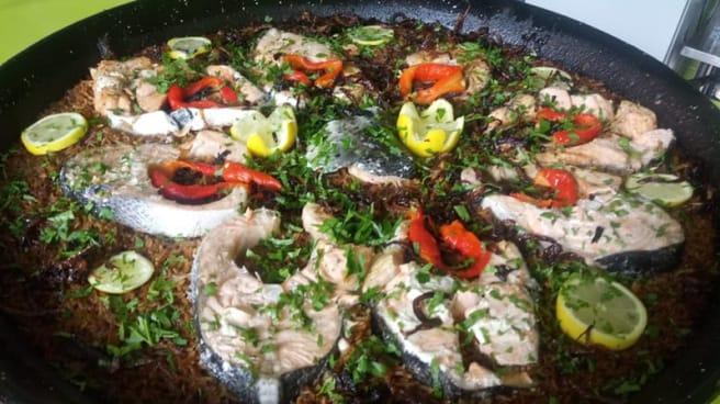 Sayadia , salmon con aroz basmaty - Aliaa, Valencia