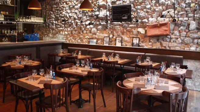 Vue de l'intérieur - Family Kitchen, Grenoble