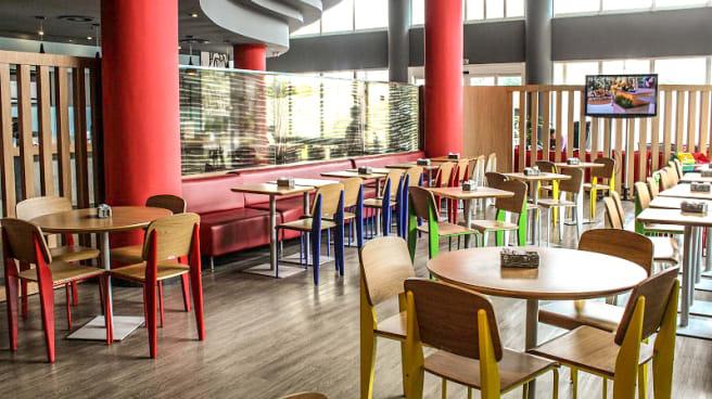 Salle du restaurant - Le Bol d'Air, Grenoble