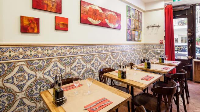 Salle restaurant - Salento Montmartre, Paris