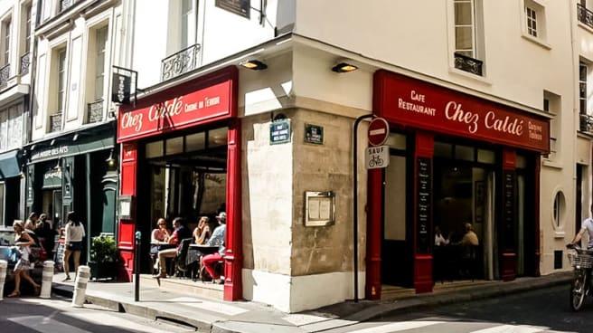 Vue exterieure - Chez Caldé, Paris
