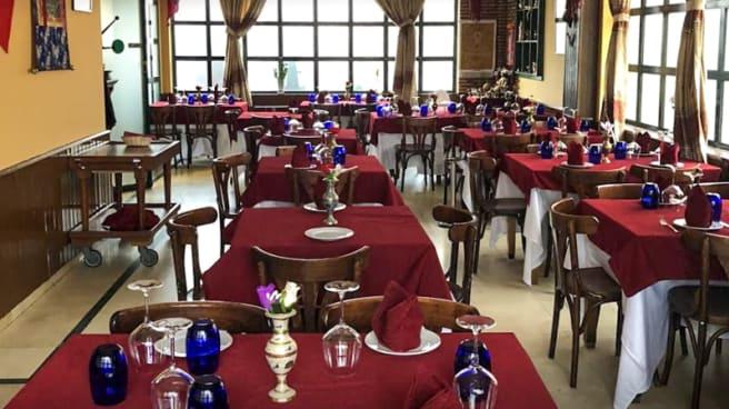 Sala del restaurante - Budha Palace Tandoori, Madrid