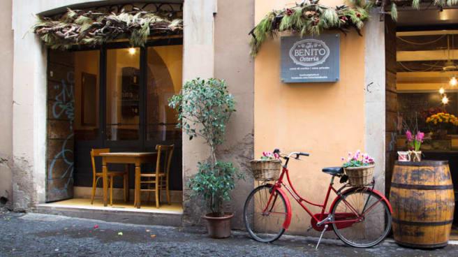La entrata - Da Benito al Ghetto, Roma