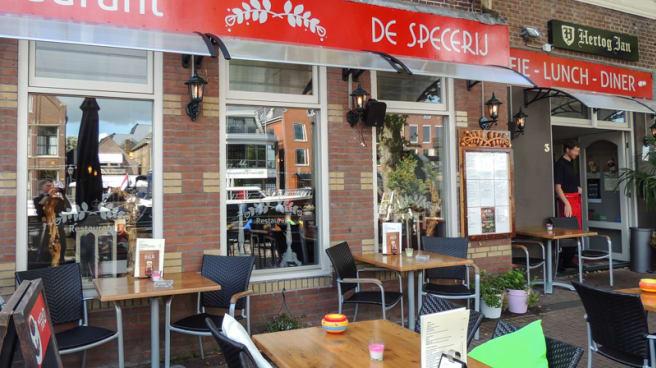 Voorkant restaurant - De Specerij, Lemmer
