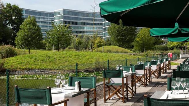 Terrasse - Crowne Plaza Brussels Airport - The restaurant, Zaventem