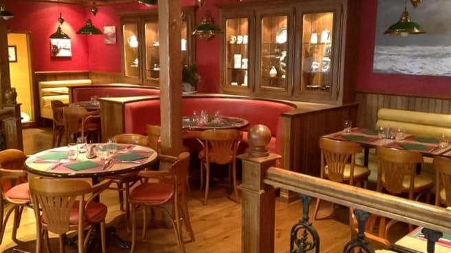 Salle du restaurant - Entre Terre et Mer