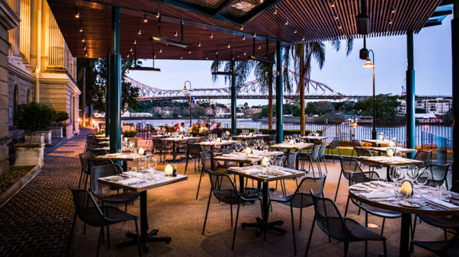 Terrace - Patina Restaurant at Customs House, Brisbane (QLD)