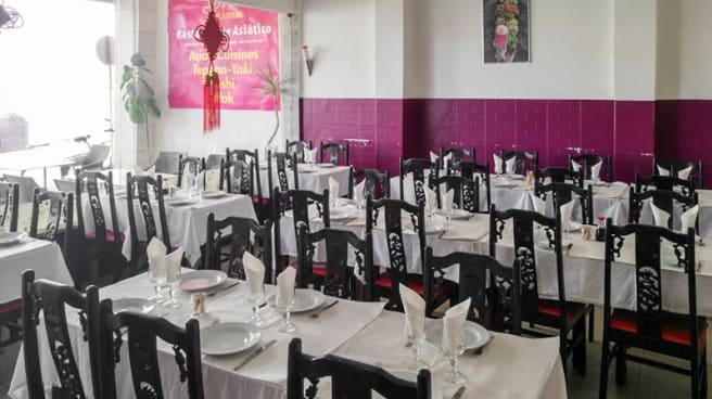 Vista da sala - Jasmim Restaurante Asiático, Carcavelos