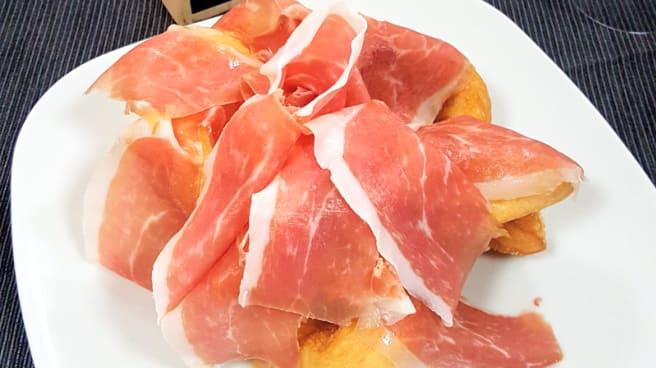 Falò di prosciutto Crudo di Parma - Teodolinda - Pizza & Birra