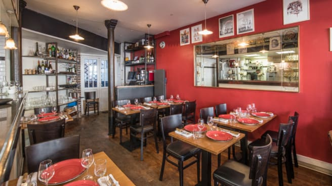 Salle du restaurant - Simone, Paris