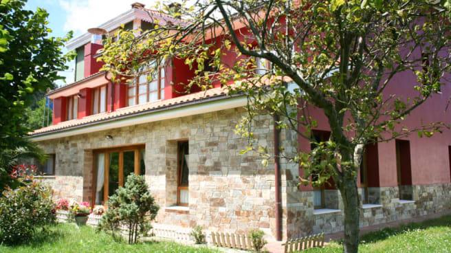 Salida del comedor al jardín - Casa Vieja del Sastre