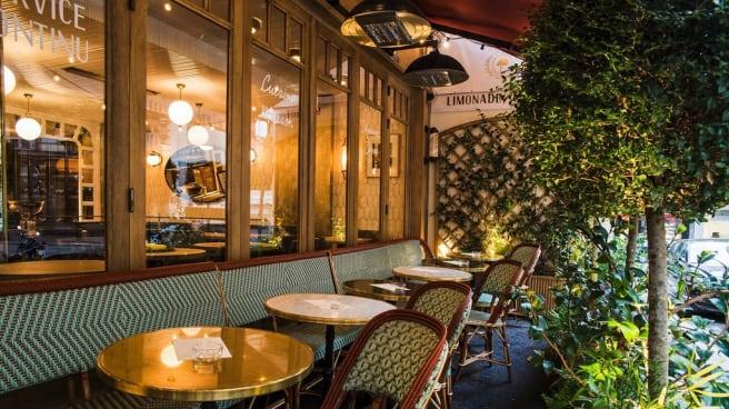 terrasse - Le Bois, Paris
