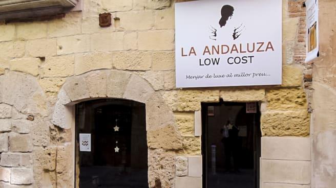 Entrada - La Andaluza Low Cost, Tarragona