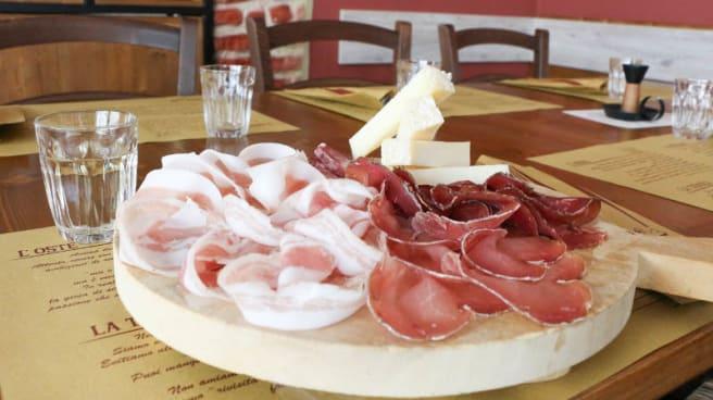 Tagliere di affettati - Osteria Nero Venere, Porcia