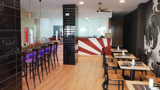 Sala del restaurante - SUSHI UMAMI, Alicante