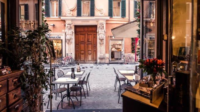 Vista terrazza - Antica Osteria Croce, Roma