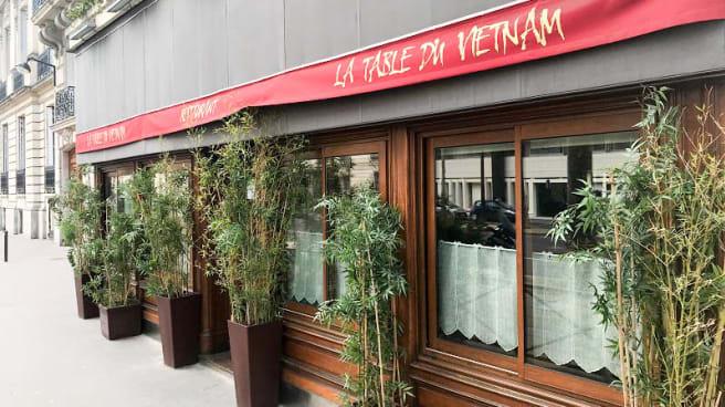Façade - La Table du Vietnam, Paris