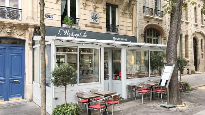 Entrée - L'Hydrophobe, Paris