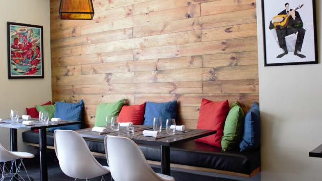sala do restaurante - Tasca do Francês, Lisbon