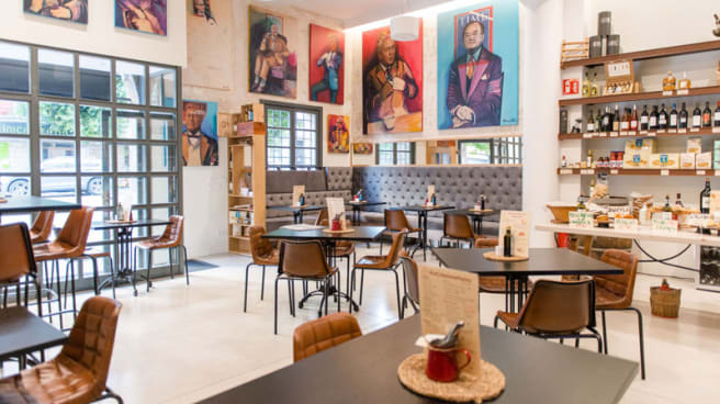 Sala del restaurante - Farina By Sandro, Palma de Mallorca