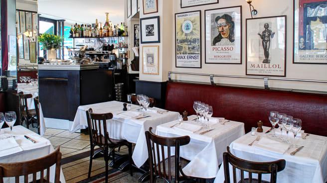 Aperçu du bar - Chez René, Paris