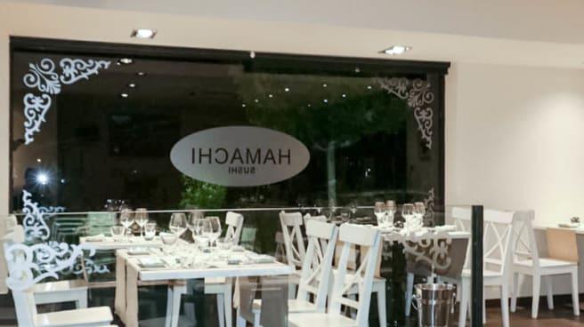 Vista de la sala - Hamachi Sushi, Madrid