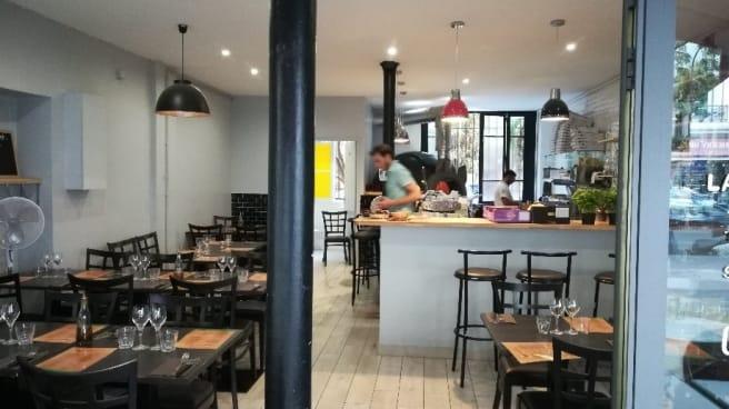 salle de restaurant - La Margherita, Paris