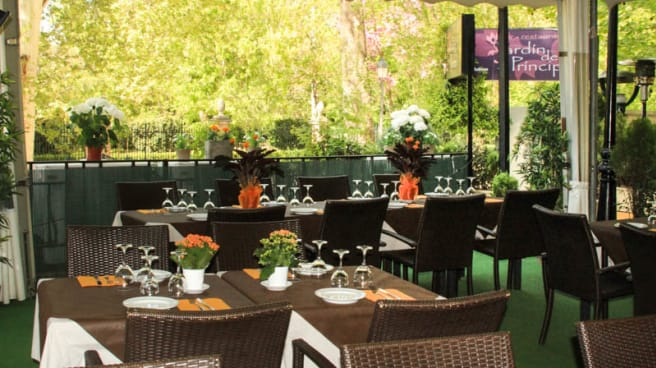 La terraza - Jardin del Principe, Aranjuez