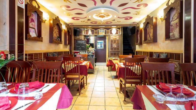 Salle du restaurant - Rajah, Grenoble
