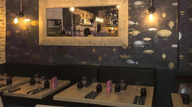 Vue des tables - Viasette, Clichy