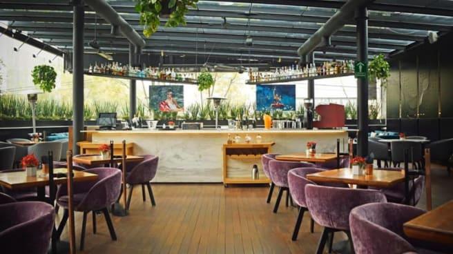 Vista del interior - Sepia Cucina Italiana, Ciudad de México