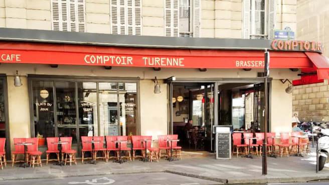 Devanture / Façade - Comptoir Turenne, Paris