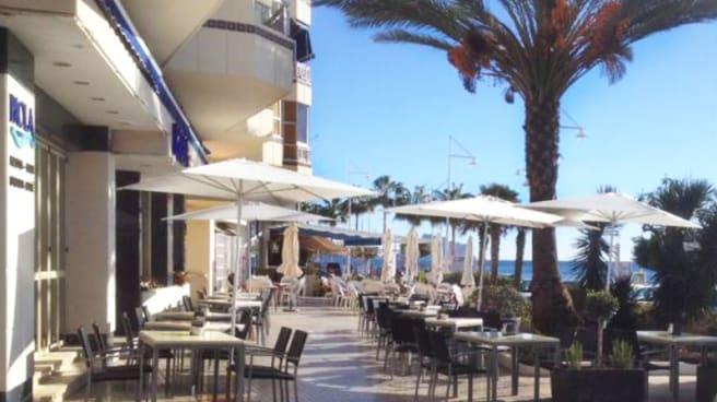 Vista terraza - Cafe Paola Mar, Altea
