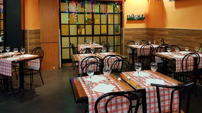 Vista sala - Pizzeria Sport Restaurant, Barcelona