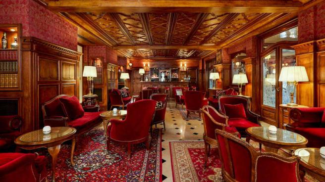 Vue de l'intérieur - Restaurant Hôtel Regina, Paris