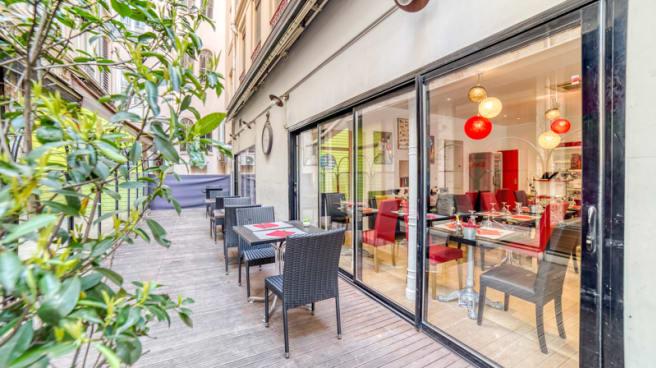 Terrasse - Er Baretto, Lyon