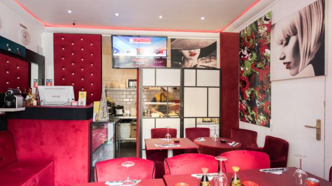 Salle du restaurant - Mega Sushi, Paris