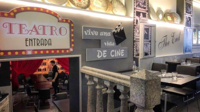 Vista del interior - De Cine, Ávila