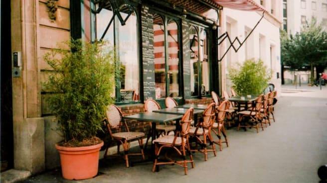 Terrasse - Café Templier, Paris