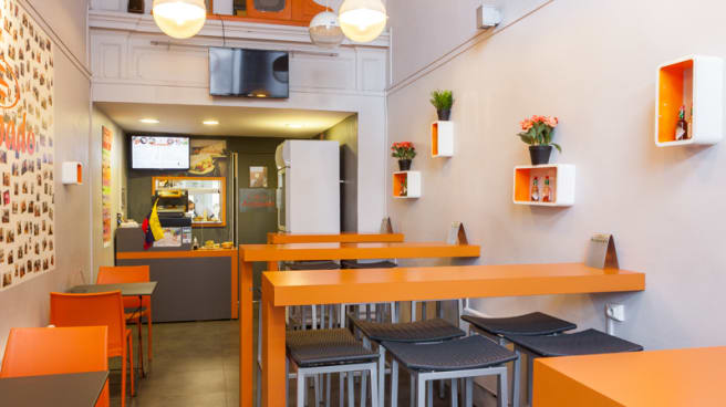 Salle du restaurant - Arepado, Lyon