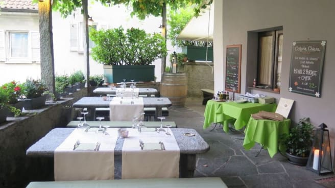 Terrasse - Osteria Chiara